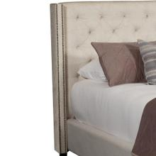 KAYLA - LILY King Headboard 6/6 (Natural)