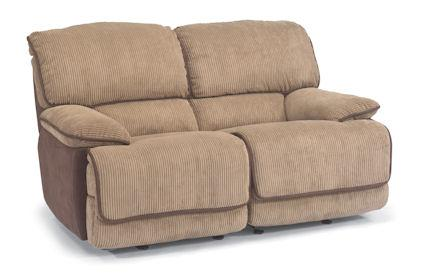 Jesse Fabric Double Reclining Love Seat
