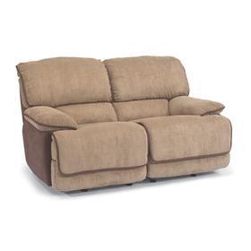 Jesse Fabric Double Reclining Love Seat