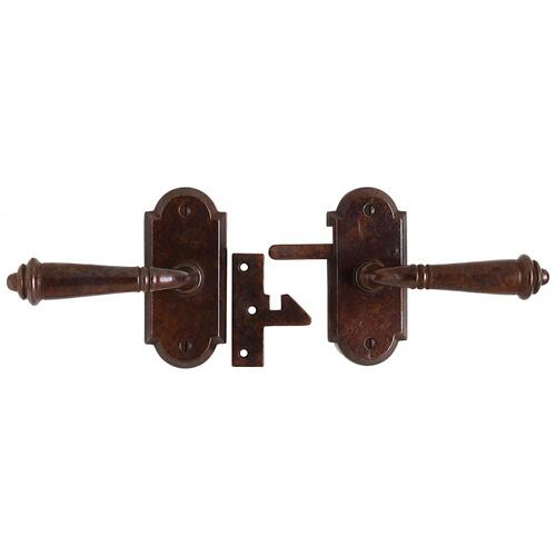 Arched Gate Hardware Silicon Bronze Brushed
