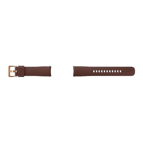 Silicone Band for Galaxy Watch 42mm, Brown