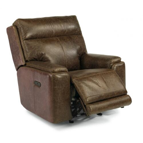 Sienna Power Gliding Recliner with Power Headrest