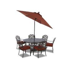 Riviera 9' Auto Tilt Market Umbrella