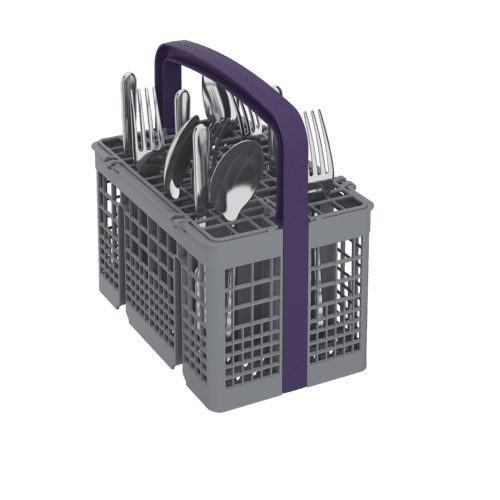 Beko - Tall Tub Black Dishwasher, 14 place settings, 48 dBa, Top Control