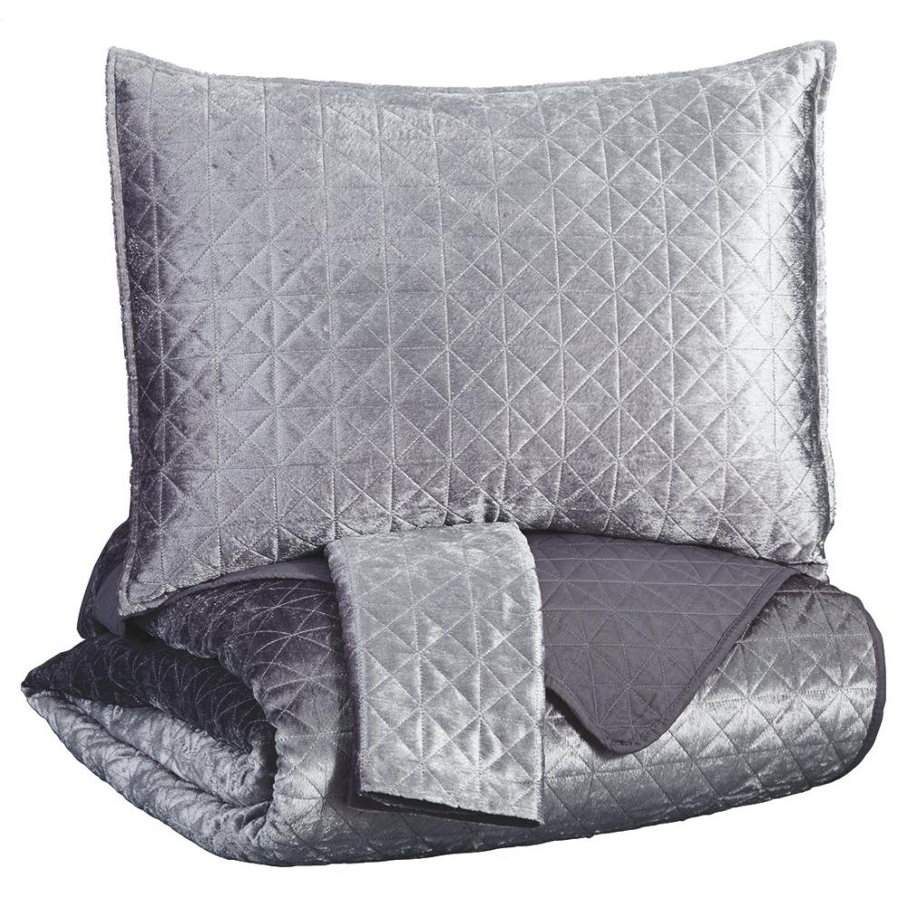 See Details - Maryam 3-piece King Coverlet Set