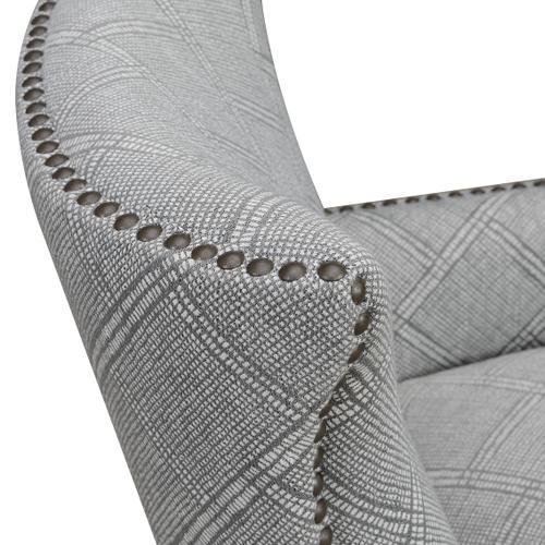 Nola Accent Chair, Beige Print U3536-05-08