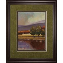 """Lake View I"" By Norman Wyatt, Jr. Framed Print Wall Art"