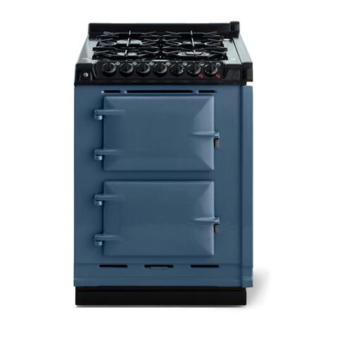 "AGA - AGA Classic 24"" Dual Fuel Module, Dartmouth Blue"