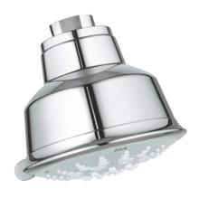 "See Details - Relexa Rustic 100 Shower Head, 4"" - 5 Sprays, 2.5 Gpm"
