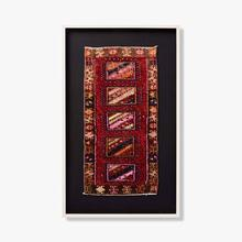 0321330057 Vintage Rug Fragment Wall Art