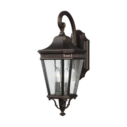 Cotswold Lane Small Lantern Black