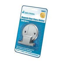 """Magnetic Door Holder Flush 2-1/2"""" Diameter Blister Pack - Polished Chrome"""