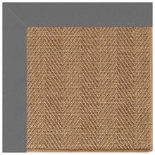 """Islamorada-Herringbone Canvas Charcoal - Rectangle - 24"""" x 36"""""""