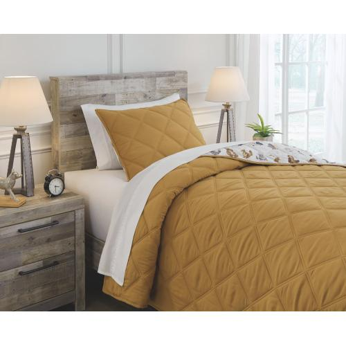 Cooperlen Twin Quilt Set