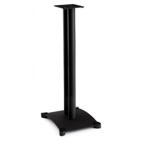 Black Steel Series 34 inches tall for small to medium bookshelf speakers