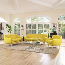Remark 3 Piece Living Room Set in Sunny