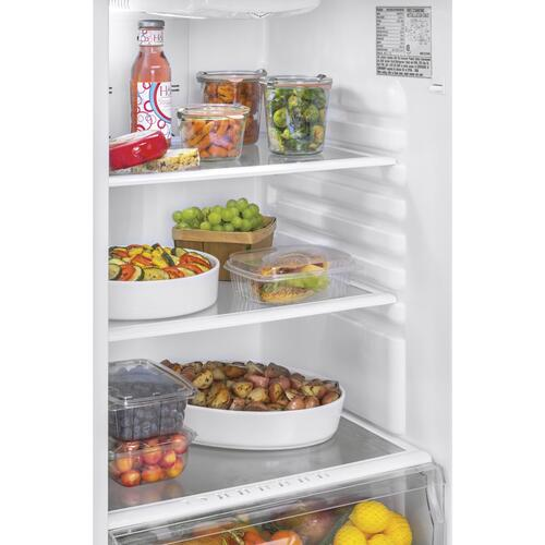 Top Mount Refrigerator - Stainless Steel
