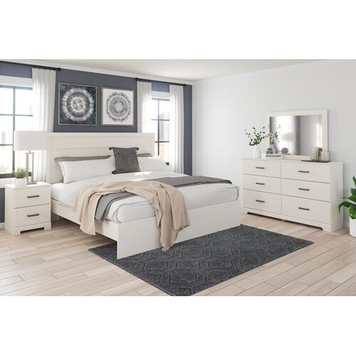 Stelsie King Panel Bed