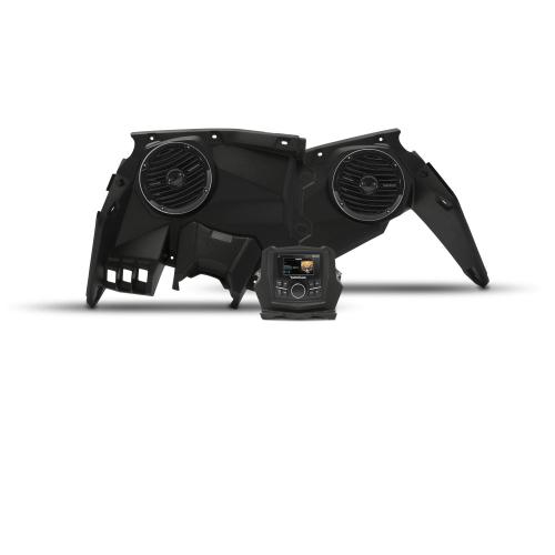 Rockford Fosgate - Stereo and front speaker kit for 2017-2018 Maverick X3 models