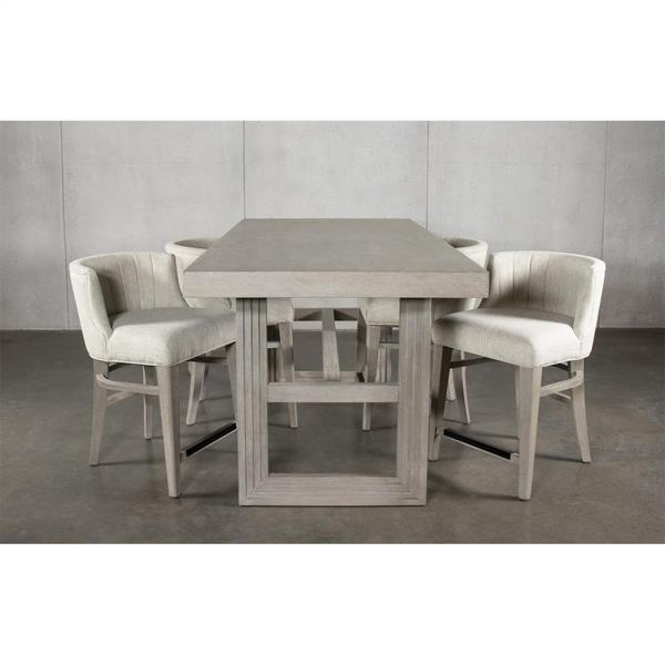 See Details - Cascade - Rectangular Counter Height Dining Table Top - Dovetail Finish