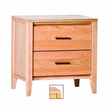 View Product - Luna 2 Drawer Nightstand