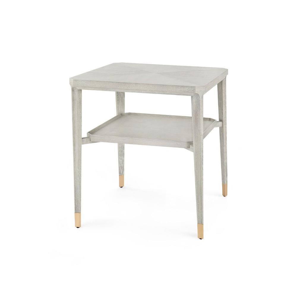 See Details - Bertram Side Table, Gray