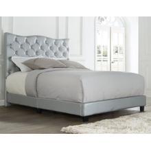 Marilyn Queen Bed, Silver