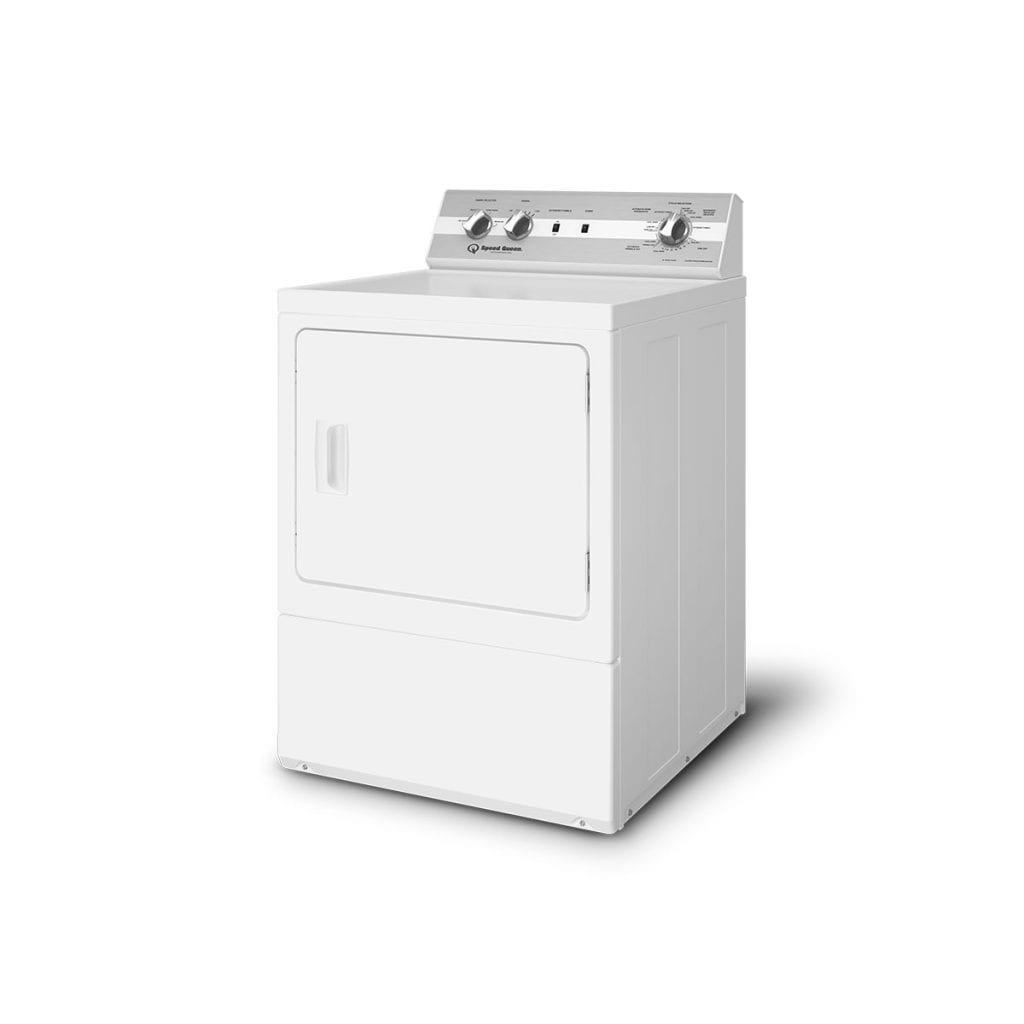 DC5 Sanitizing Electric Dryer with Extended Tumble  Reversible Door  5-Year Warranty
