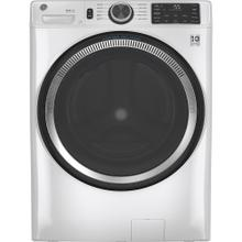 GE® 5.5 cu. ft. (IEC) Capacity Washer with Built-In Wifi White - GFW550SMNWW
