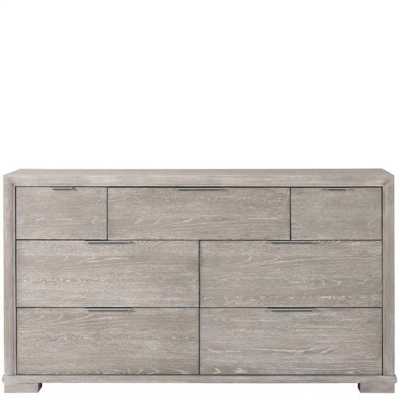 Riverside - Remington - Seven Drawer Dresser - Urban Gray Finish