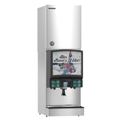 KMS-822MLJ with SRK-10J, Crescent Cuber Icemaker, Remote-cooled, Serenity Series