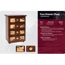 See Details - Adirondack Four Drawer Stack Chest