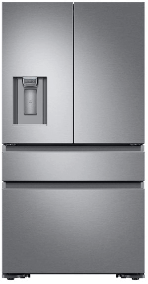 """Dacor36"""" Counter Depth French Door Bottom Freezer, Silver Stainless Steel"""