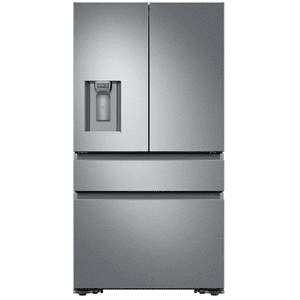 "Dacor36"" Counter Depth French Door Bottom Freezer, Silver Stainless Steel"