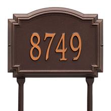 View Product - Williamsburg - Standard Lawn - One Line - Antique Copper