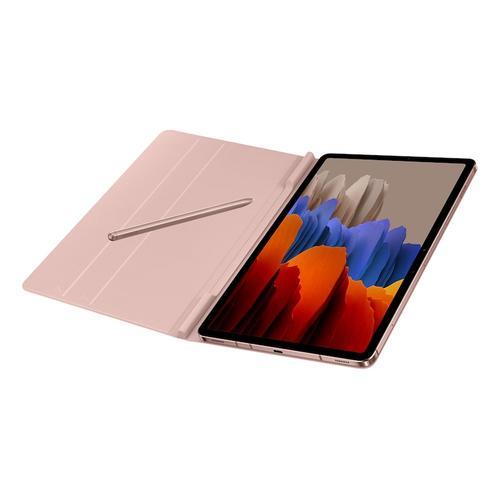 Samsung - Galaxy Tab S7 Bookcover - Bronze