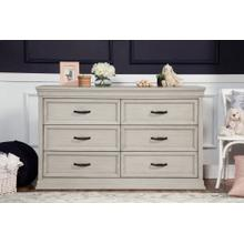 Langford 6-Drawer Dresser in London Fog