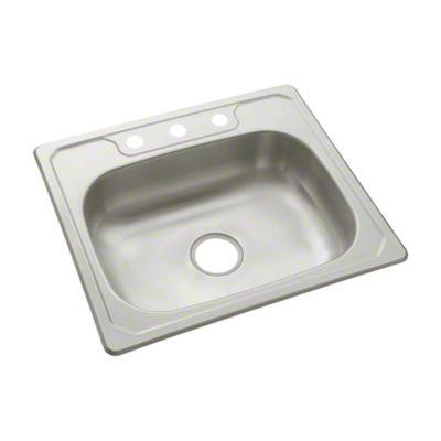 Sterling 146313na Studio41 Middleton Single Basin Kitchen Sink 25 X 22