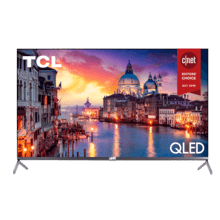 "TCL 65"" Class 6-Series 4K QLED Dolby Vision HDR Roku Smart TV - 65R625"