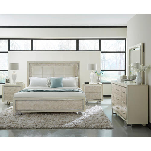 Cydney Queen Panel Bed Footboards & Slats