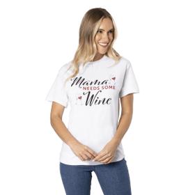 Mama Needs Wine T-Shirt - S