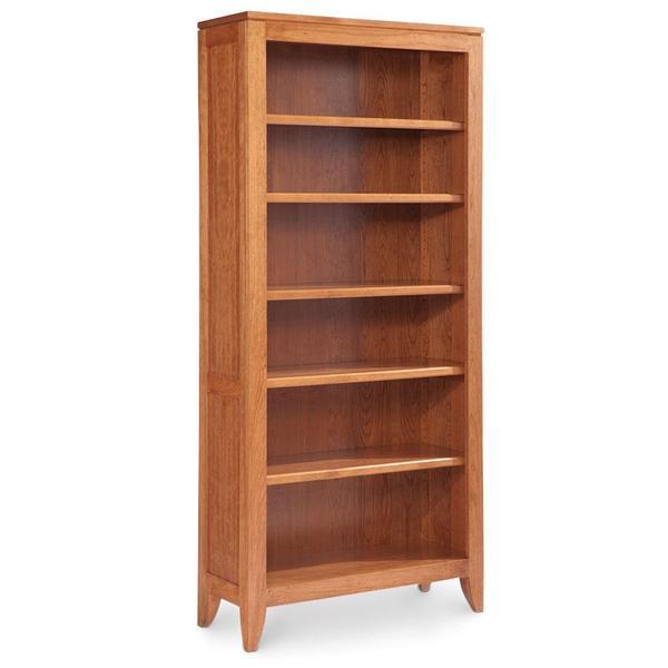 See Details - Justine Open Bookcase, 3 Adjustable Shelves