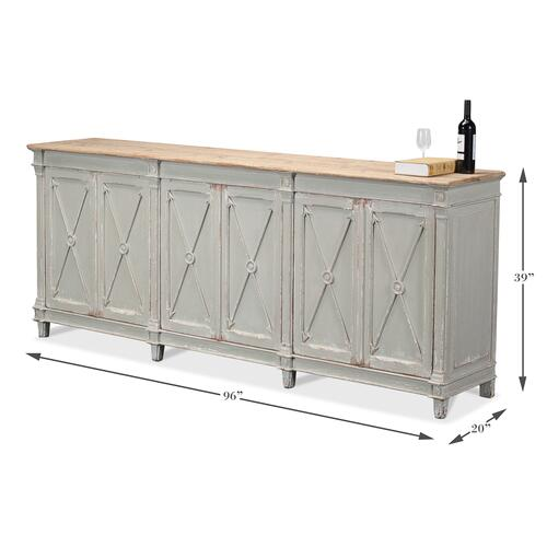 Marksman Sideboard,Antique Muted Grey