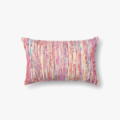 P0242 Red / Multi Pillow