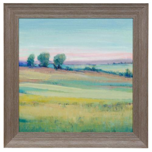 Style Craft - VIVID LANDSCAPE V  29in w X 29in ht  Made in USA  Textured Framed Print