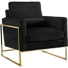 """See Details - Mila Velvet Chair - 32"""" W x 36.5"""" D x 35"""" H"""
