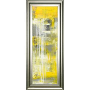 """Mellow Yellow I"" By Erin Ashley Framed Print Wall Art"