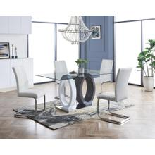 D1628DT W/D915DC WHITE DINING SET