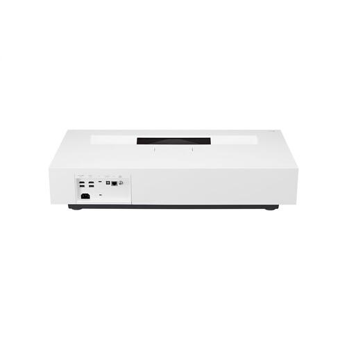 DLP UHD 4K (3840 x 2160) CineBeam® Ultra Short Throw Laser Projector, AI ThinQ with Google Assist & Alexa, HDR10, 20,000 Hrs. Lamp Life, 2,700 ANSI Lumens, & Wireless, Bluetooth, USB Type-C, & HDMI Connection