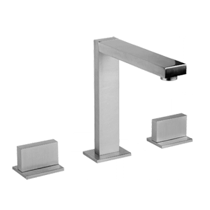 "Three hole washbasin mixer - Spout height 6-1/4"" and projection 5-5/8"" Product Image"
